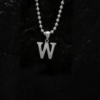 ARIZONA FREEDOM シルバーアクセサリー ペンダント トップ 【NO.105】 アルファベット トップ W (小) 素材: SV925 【AlphabetTop】