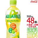 【日本全国 送料無料】アクエリアス 1日分のマルチビタミン 500ml × 48本(24本×2ケース) AQUARIUS スポーツドリンク 熱中症 コカ・コーラ Coca Cola メーカー直送 コーラ直送・・・