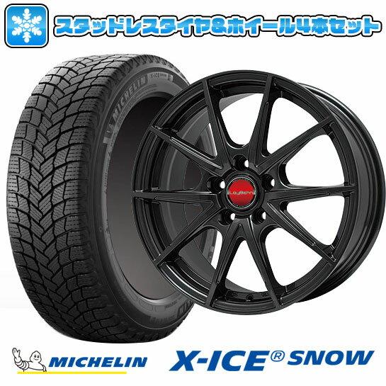 タイヤ・ホイールセット, スタッドレスタイヤ・ホイールセット  5114 MICHELIN X-ICE SNOW 21560R17 17 4 BIGWAY LEYBAHN WGS 7J 7.00-17