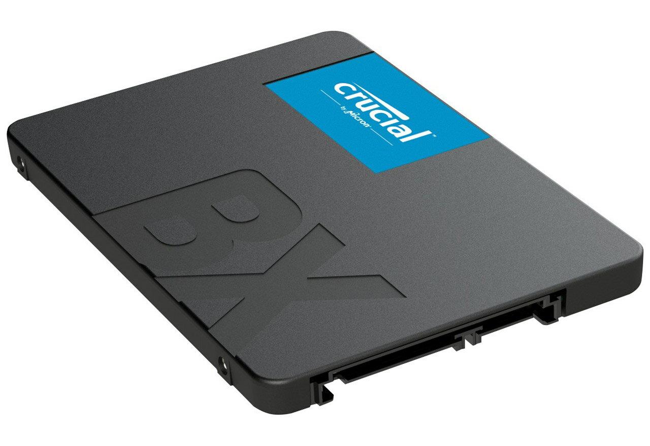 内蔵ドライブ・ストレージ, 内蔵ハードディスクドライブ Crucial BX500 120GB 3D NAND SATA 2.5-inch SSD