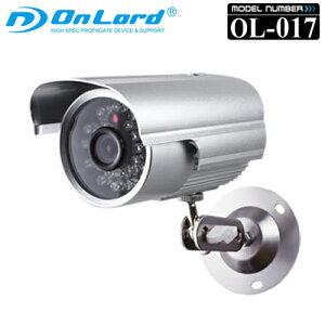 赤外線LED搭載録画機能付き防犯カメラ「OL-017」
