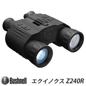 【ブッシュネル(Bushnell)】疑似双眼暗視スコープ第二世代相当撮影・録画機能搭載デジタルナイトビジョン「エクイノクスビノキュラーZ240R(EQUINOXBINOCULARZ240R)」【送料無料】【国内正規品】
