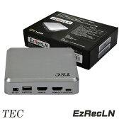 テック ライトニングケーブル キャプチャーBOX Lightningケーブル 録画 EzRecLN(イージーレックLN)TEzRecLN