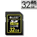 リーダーメディアテクノ Lazos SDカード SDHCカード SDHCメモリーカード 32GB CLASS10 L-32SD10