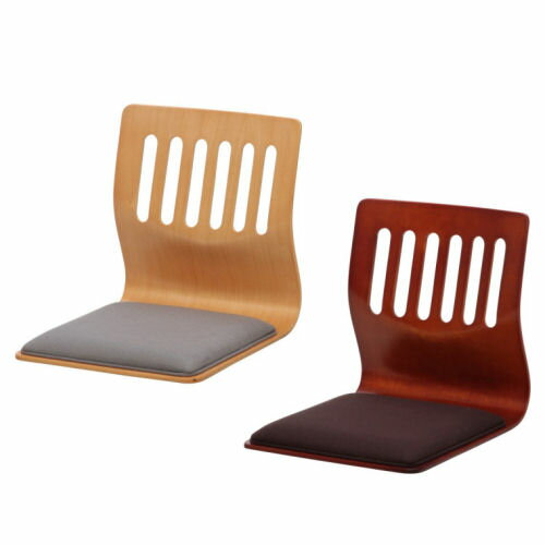 【interior送料無料】クッション付き木製座椅子【2本セット価格です】コタツの時期に最適な座椅子