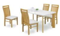 【送料無料】☆テーブルホワイトカラーが人気です☆背ハイバックで座り心地抜群です