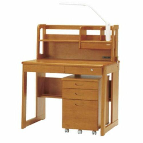 やさしい質感のアルダー無垢材使用実用性・機能性に優れたデザインベーシックなサンデスク:ark-interior-shop