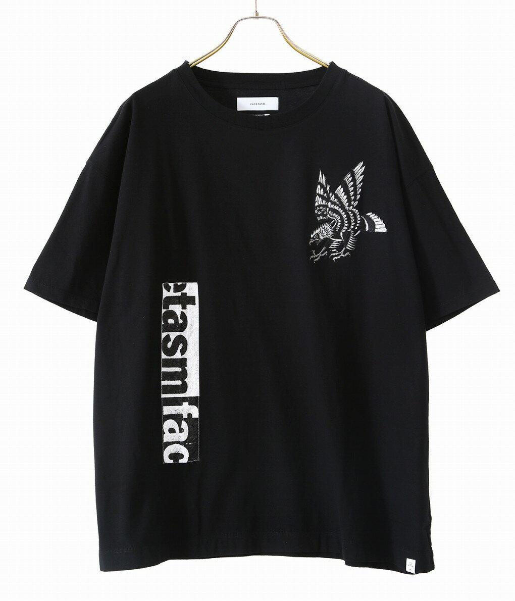 トップス, Tシャツ・カットソー FACETASM EAGLE TEE TEE T 20SS 20 YA-TEE-U10 WAX