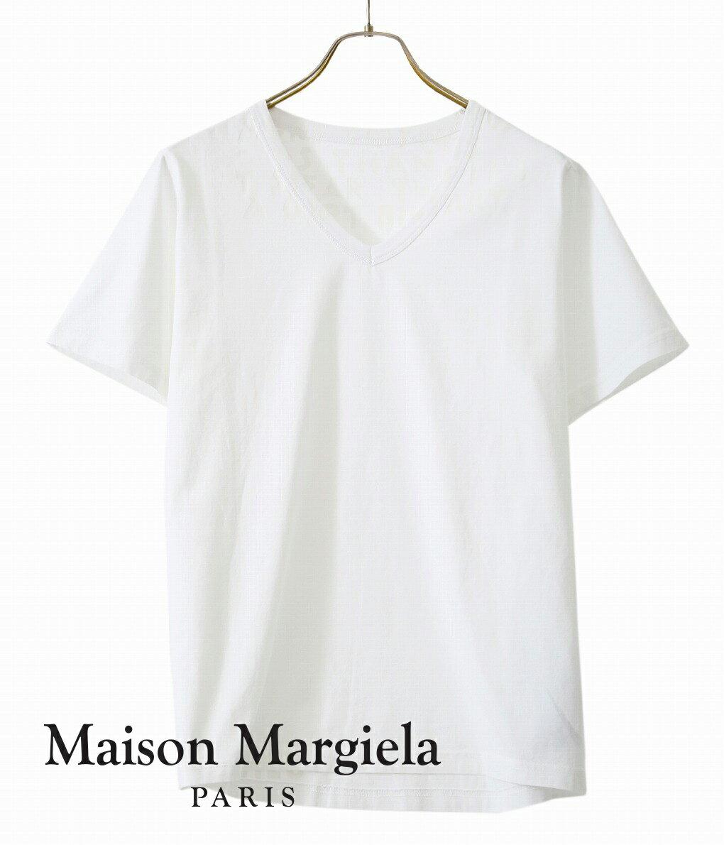 トップス, Tシャツ・カットソー Maison Margiela AIDS TEE T S30GJ0007-S20299 RIPBJB