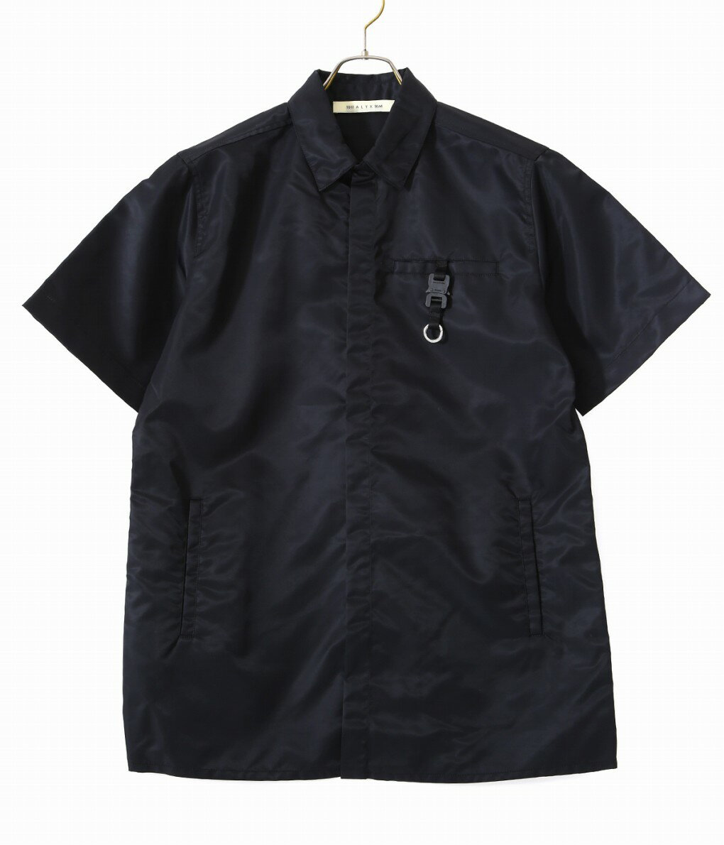 トップス, カジュアルシャツ 1017 ALYX 9SM SS BUTTON UP W BUCKLE AAMSH0025FA01 WAX