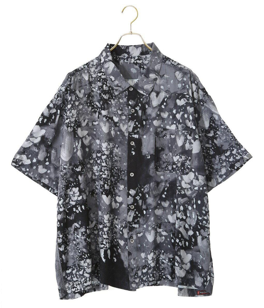 トップス, カジュアルシャツ Porter Classic : HEART ALOHA SHIRT 2 : : PC-024-1319 COR