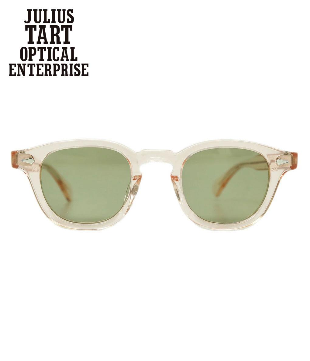 眼鏡・サングラス, 眼鏡 JULIUS TART OPTICAL AR 42-22 -FRESH PINK GREEN- JTPL-009H-GN-30WIS
