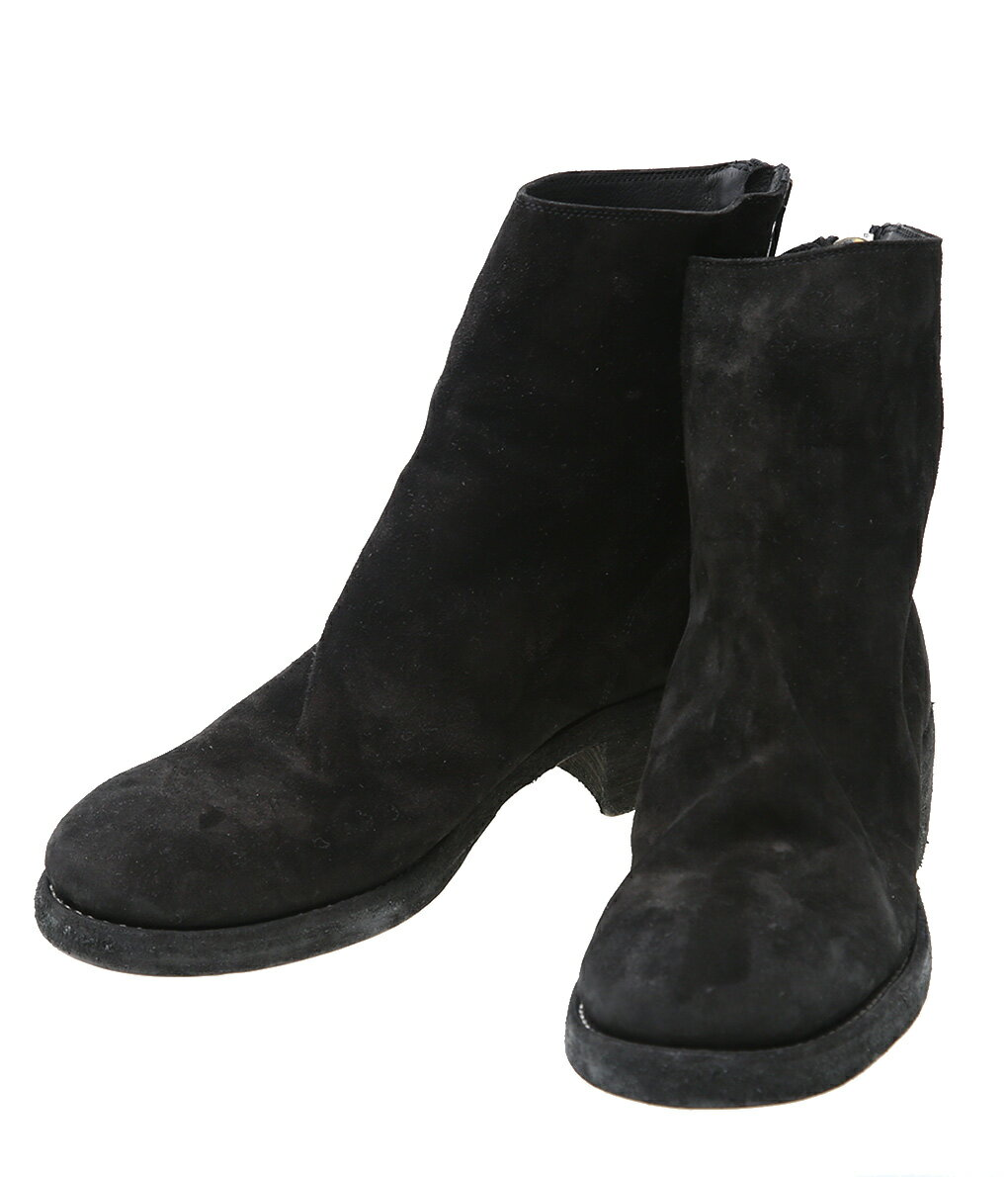 ブーツ, その他 GUIDI BACK ZIP BOOT 796Z-BCALF-REVRIP