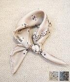 ■【予約商品 3月下旬〜4月入荷予定入荷予定】manipuri [マニプリ] / Silk scarf Bandana(53cn×53cn) (シルクスカーフ バンダナ ハンカチ チーフ バルーン柄)MP-A-2【ANN】