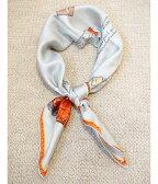 ■【予約商品 3月下旬〜4月入荷予定入荷予定】manipuri [マニプリ] / Silk scarf Book(65cm×65cm) (シルクスカーフ バンダナ ハンカチ チーフ ブック柄)MP-23-BOOK【ANN】