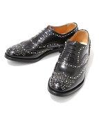 【スマホエントリーで19倍!】【期間限定ポイント10倍!】CHURCH'S [チャーチ] / 【レディース】BURWOOD MET -(約23〜24.5cm) (CHURCH'S レディース レザー シューズ 革靴 スタッズ) 8746-01【ANN】