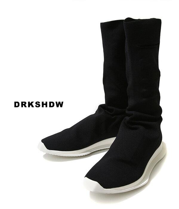 メンズ靴, スニーカー !DRKSHDW RUNNER STRETCH SOCK Rick Owens 19SS 19 DU19S4821-KLY WAX