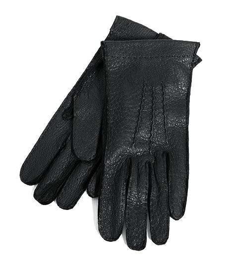 DENTS(デンツ) ペッカリーレザー グローブ(ライニングなし)-ブラック (デンツ ペッカリー グローブ レザー 手袋) 15-1041【MUS】:ARKnets