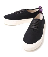 EYTYS(エイティーズ)LOCUTDECKSHOES-BLK-(厚底ラバーソールキャンバス)MOTHER-CANVAS-BLK【RIP】