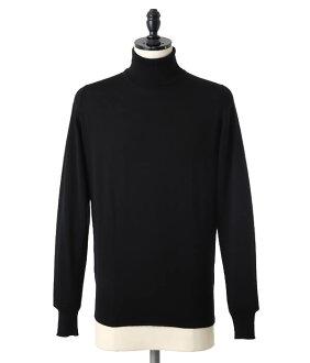 JOHN SMEDLEY[John Smedley]/A3742高領編織物(高領高領編織物套衫毛衣)A3742[MUS]