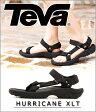 Teva [ テバ ] / 【メンズ】HURRICANE ハリケーン XLT M-ブラック (25cm〜29cm)【耐久/安全/軽量】(サンダル スポサン スポーツサンダル テヴァ 靴 アウトドア)4156-BLK【PIE】【REA】