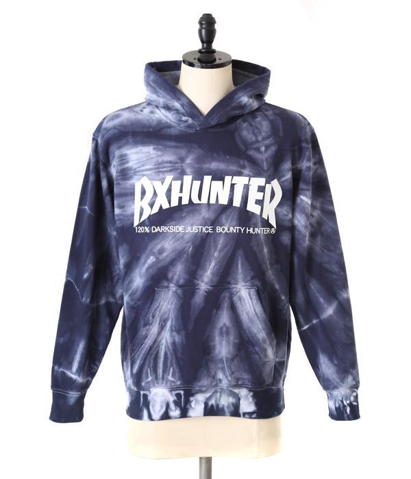 【終了間際!送料無料】【SALE/セール】BOUNTY HUNTER(バウンティーハンター) / BxH Tie-Dye PK (フーディー パーカー タイダイ柄 THRASHER スラッシャー メンズ トップス)BHLC1402-8【WAX】