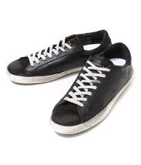 GOLDENGOOSE[ゴールデングース]/SNEAKERSSUPERSTAR-BLACKSKATE-(ゴールデングーススニーカー靴ヴィンテージ)G26U590-A6【RIP】