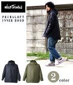 WILD THINGS(ワイルドシングス) / PRIMALOFT INNER HOOD / 全2色(インナーフード インナージャケット アウター ブルゾン パーカ)WT010N【AST】