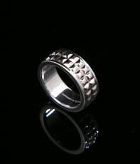 VINTAGE(ヴィンテージ)/VINTAGETIFFANYPYRAMIDRING(ヴィンテージティファニーアクセサリーアンティークシルバーピラミッドリング指輪ギフトプレゼントラッピング可能クリスマス)VT-TF-PYRAMID-RING-ABC【DEA】