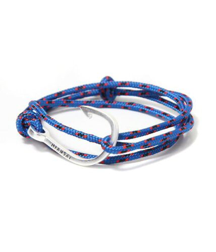 MIANSAI [ミアンサイ] / Silver Tone Hook (ブレスレット ミアンサイ マイアンサイ) MB00001S-BLU...