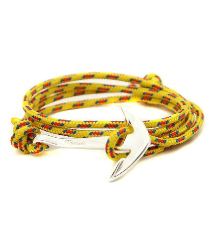 MIANSAI [ミアンサイ] / Silver Tone Anchor Rope (ブレスレット ミアンサイ マイアンサイ)MB00002...