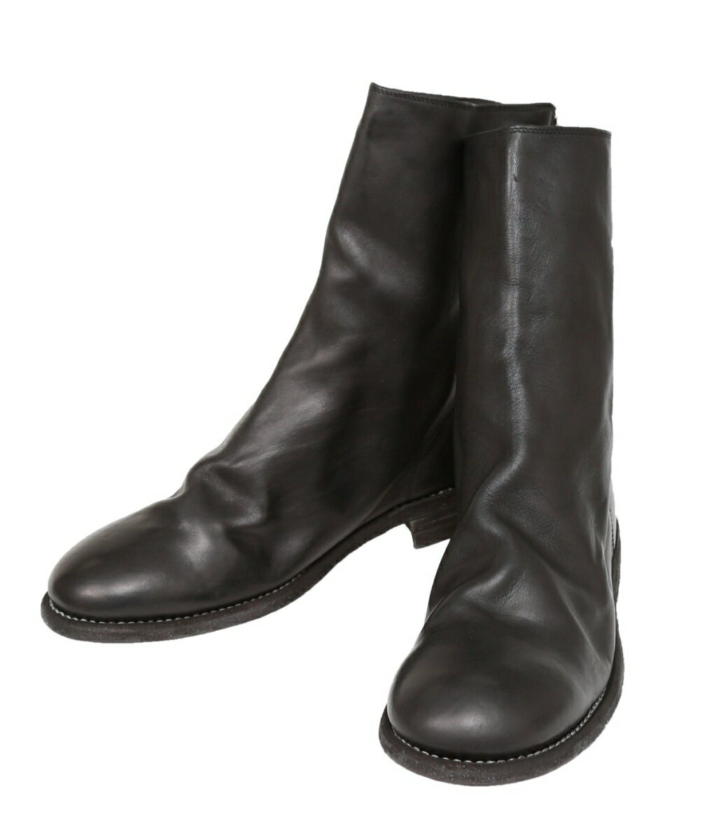 ブーツ, その他 GUIDI 988 Horse Full Grain Backzip Boot 988 988-HORSERIPBJB