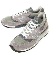 NewBalance(ニューバランス)/M998GY(NBスニーカーシューズ靴)【REA】
