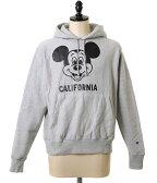JACKSON MATISSE (ジャクソンマティス) Mickey Mouse CALIFORNIA Parka (メンズ レディース ユニセックス ミッキーマウス カリフォルニア スウェット パーカー フーディー 2017) JM17SS045-re【REA】