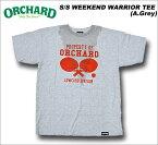 【SALE】ORCHARD(オーチャード) S/S WEEKEND WARRIOR TEE [A.Grey]/LOWCARDコラボTシャツ