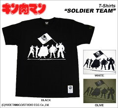 "【キン肉マン】SOLDIER TEAM ""超人血盟軍"" Tシャツ/BamBamBigelow~MUSCLE APPAREL~"