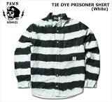 PAWN�ʥѥ����/TIEDYEPRISONERSHIRT��White��/ŵ�����