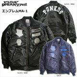 【先行予約】PUNKDRUNKERS(パンクドランカーズ)/エンブレムMA-1/2015年12月入荷予定