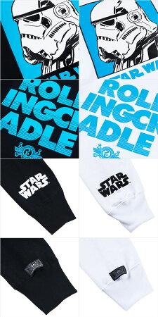 【ロリクレ】ROLLINGCRADLE(ローリングクレイドル)×STARWARS/StormtrooperSweat/クルーネックスウェット