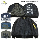 MARKGONZALES(マーク・ゴンザレス)/MA-1/フライトジャケット