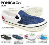 PONIC&Co./DEAN/スリッポン