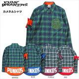 【先行予約】PUNKDRUNKERS(パンクドランカーズ)/カメネルシャツ/2016年9月入荷予定