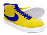 【送料無料】NIKESBBLAZERZOOMMID/864349-751[touryellow×deepnight-white]/ナイキSB