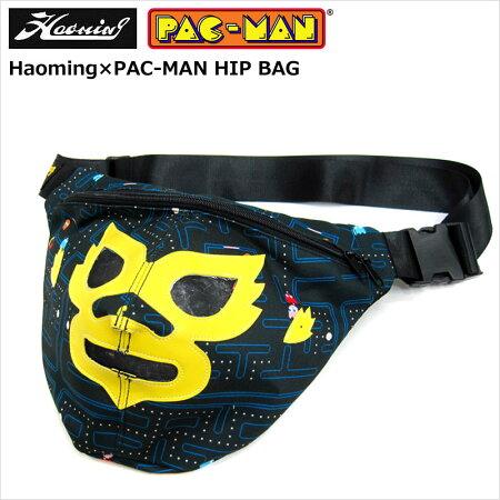 HAOMING(ハオミン)×PAC-MAN/MASKHIPBAG[Black]/ウェストポーチ