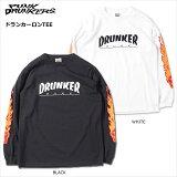 【先行予約】PUNKDRUNKERS(パンクドランカーズ)/ドランカーロンTEE/2017年8月中旬〜下旬入荷予定