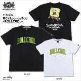 【ロリクレ】ROLLINGCRADLE(ローリングクレイドル)/RCxSpongeBob-SquarePants-T-SHIRT/半袖Tシャツ