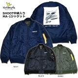 MARKGONZALES(マーク・ゴンザレス)/SHOOT中綿入りMA-1ジャケット/フライトジャケット