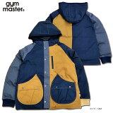 gymmaster(ジムマスター)/G157687/ドロップポケットマンパー/中綿ジャケット