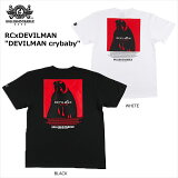 """【ロリクレ】ROLLINGCRADLE(ローリングクレイドル)/RCxDEVILMAN""""DEVILMANcrybaby""""/T-shirts/半袖Tシャツ"""