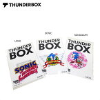 THUNDERBOX(サンダーボックス)/SONIC×TB STICKER/ステッカー/SONIC THE HEDGEHOG/ソニック・ザ・ヘッジホッグ